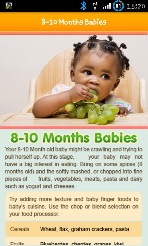 100 Baby Food Recipe Lite Android Apps On Google Play