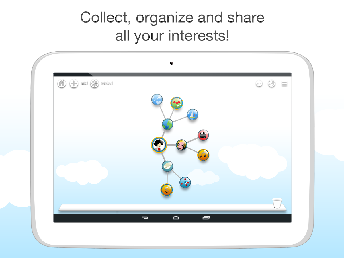 Pearltrees - Collect & Share - screenshot