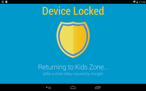 Kids Zone Parental Controls - screenshot thumbnail