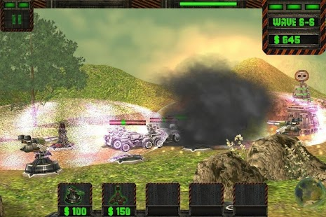 Tower Attack Cyber War - HD - screenshot thumbnail