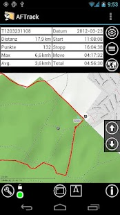 AFTrack-Lite - GPS Tracking- screenshot thumbnail