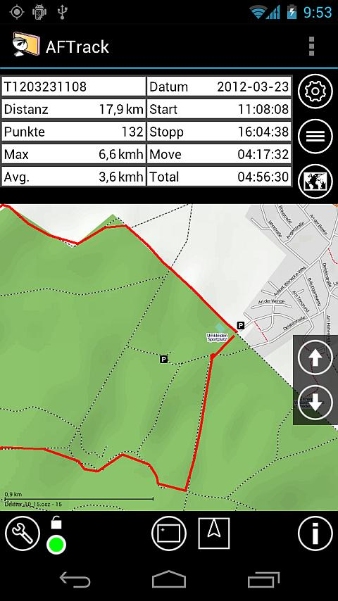 AFTrack-Lite - GPS Tracking- screenshot