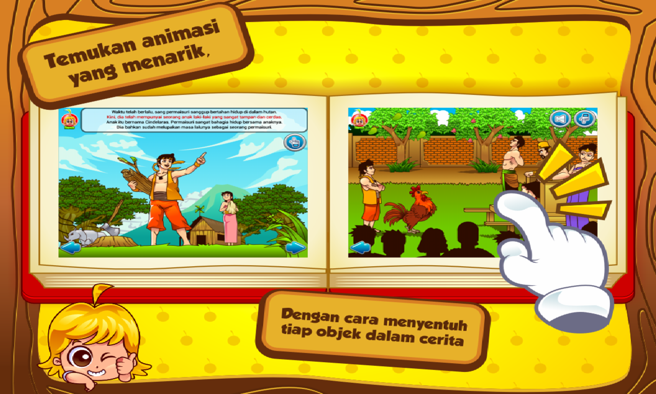Cerita Anak Cindelaras Android Apps On Google Play