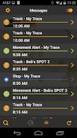 Screenshot of The SPOT App