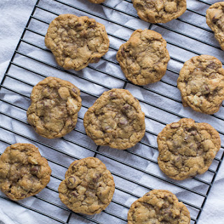 Whole Wheat Chocolate Chip Walnut Cookies.