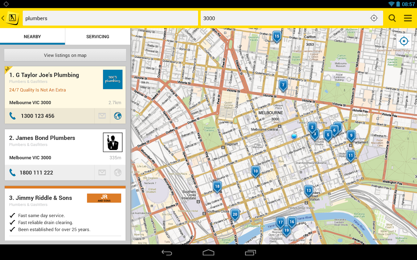 Yellow Pages® Australia - screenshot