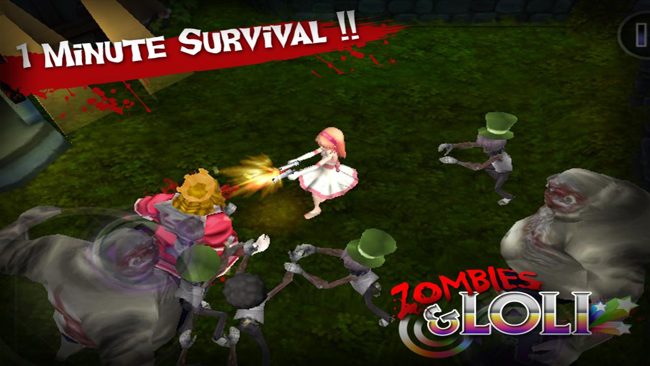 Zombies Loli - screenshot