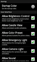 Screenshot of Droid Light