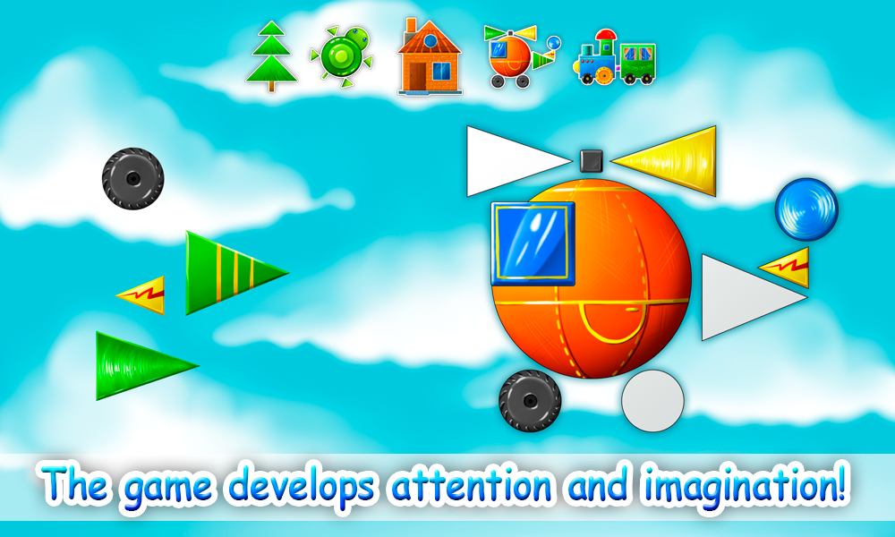 Learning Shapes for Kids- screenshot