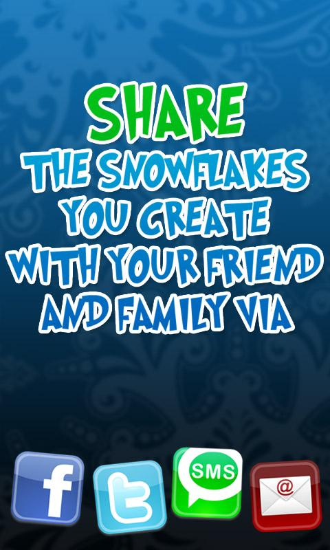 Happy Snowflake - screenshot