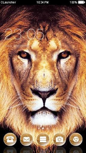 狮子手機主題——暢遊桌面