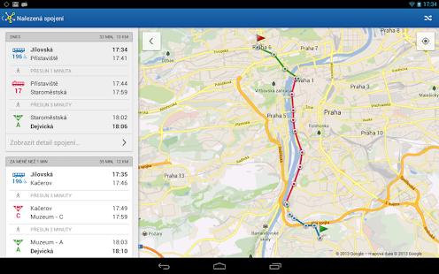 Offline Jízdní řády CG Transit Screenshot 30