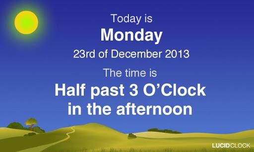 Lucid Clock