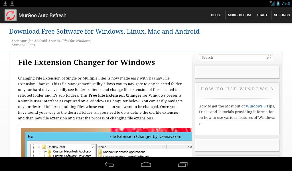 Auto Refresh Web Page Utility