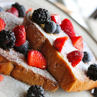 Challah Bread French Toast.
