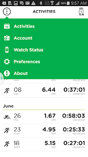 TomTom MySports- screenshot thumbnail