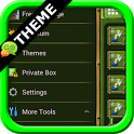Bamboo GO SMS Theme icon