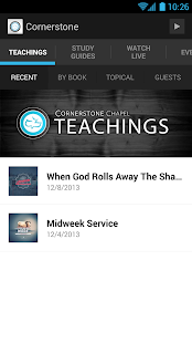Cornerstone Chapel - screenshot thumbnail