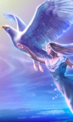 Angel Live Wallpaper