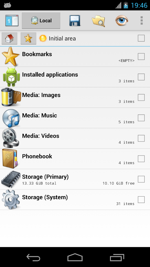 CASTLE File Manager - screenshot