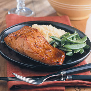 Honey-Glazed Salmon.