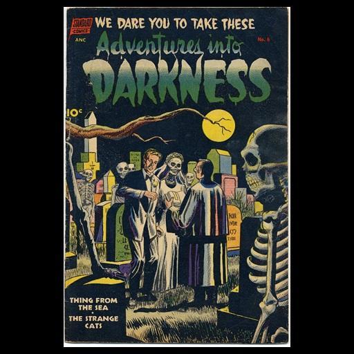 Adventures Into Darkness # 6 LOGO-APP點子