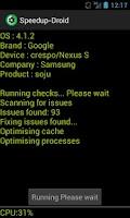 Screenshot of Speedup Droid