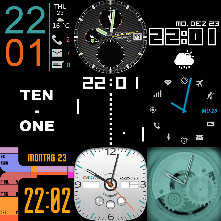 Download 27 Watch faces for Wear & Sony APK latest version