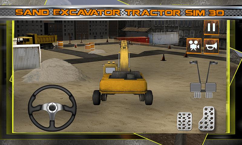 Sand Excavator Tractor 3D  Aplicaciones Android en Google Play