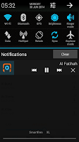 Screenshot of Ahmad Saud Murattal