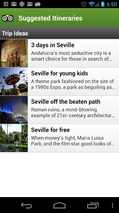Seville City Guide - screenshot
