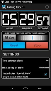 Talking Timer +- screenshot thumbnail
