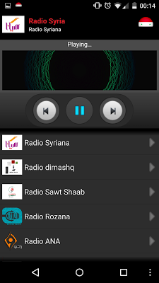 RADIO SYRIA - screenshot