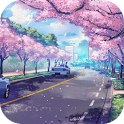 Cherry blossom LiveWallpaper icon