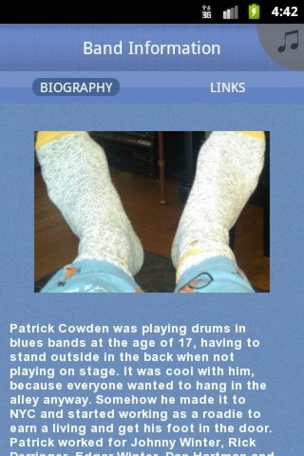 Patrick Cowden - screenshot