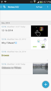FiiNote, note everything- screenshot thumbnail