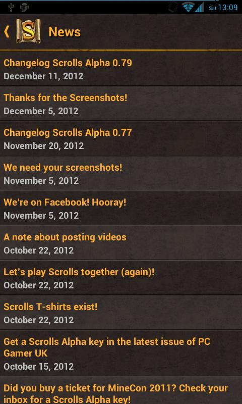 A Guide to Scrolls - screenshot