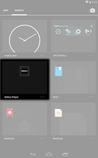 Battery Simplicity Widget - náhled