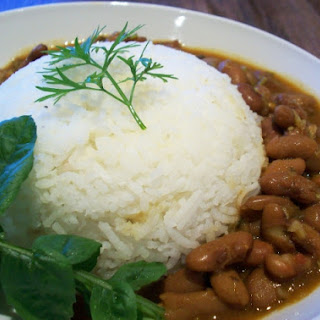 Indian Spicy Pinto Bean Curry (Rajma).