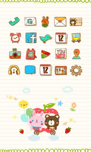 Happy apple icon theme
