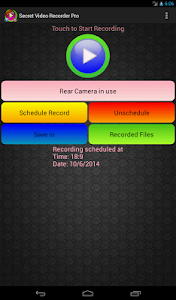 Secret Video Recorder Pro screenshot 9