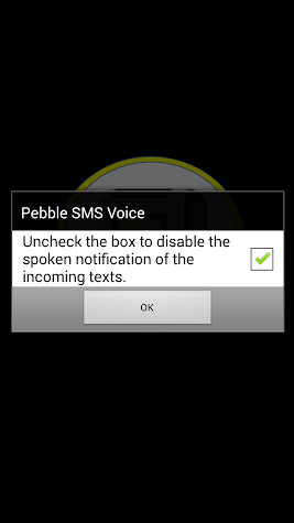 SmartWatch SMS Voice Screenshot