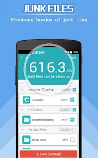 ToolWiz Cleaner (Speedup)- screenshot thumbnail