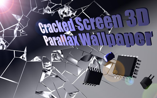 Cracked Screen Gyro 3D Parallax Wallpaper HD 1.0.5 screenshots 3