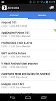 Screenshot of GDG DevFest 2012 Berlin