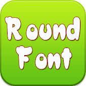 Round Font for Sumsang Galaxy