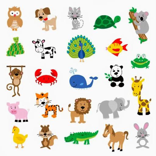 幼儿及少动物着色学习 娛樂 LOGO-阿達玩APP