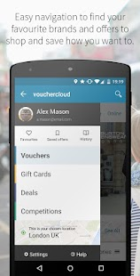 vouchercloud - screenshot thumbnail