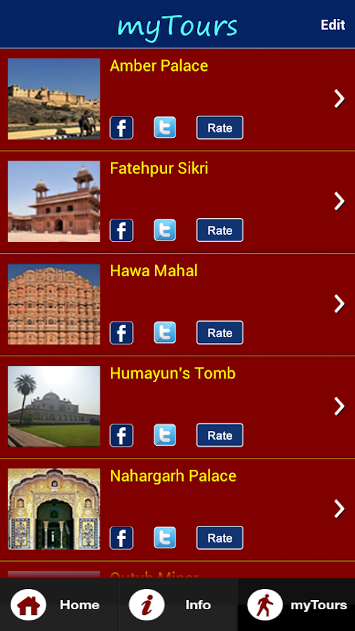 mytour india - screenshot