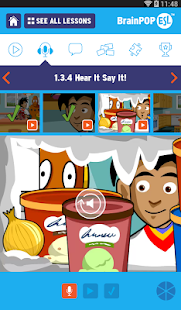BrainPOP ESL- screenshot thumbnail